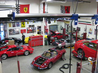 Ferrari Service in Massachussets